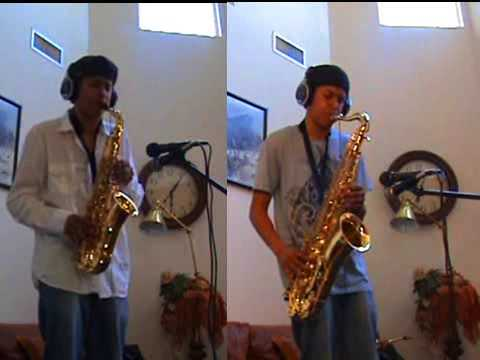 Beyoncé - Halo - Alto and Tenor Saxophone Duet Video