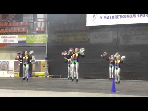 Dreams - Msr 2014 Miniformácia Kadet Pom-poms video