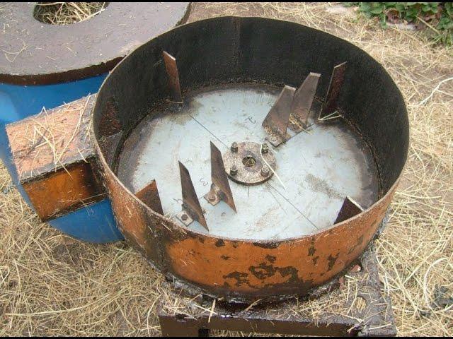 Изготовление соломорезки