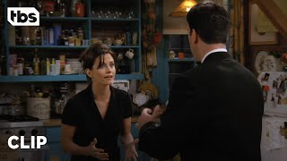 Friends: Monica's Chaotic Answering Machine (Season 3 Clip) | TBS