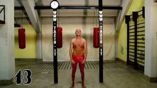 Skinny Doesn't Mean Weak: 43 Pull Ups in a Row. No Kipping -Tazio Il Biondo-