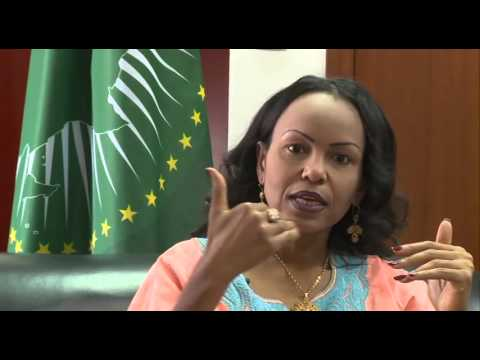 African Union Summit Broadcast - Commissioner Trade & Industry, H.E  Mrs. Fatima Haram Acyl