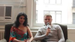 Download 'Sense 8' Stars Tina Desai & Max Riemelt Explain The Series' Message 3Gp Mp4