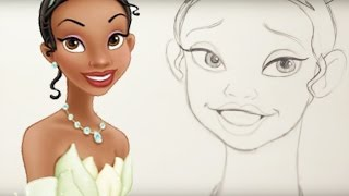 How to Draw Tiana from The Princess and the Frog