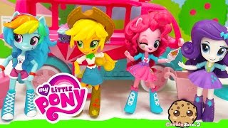 My Little Pony Equestria Girls Minis Dolls MLP Rainbow Dash, Twilight - Cookieswirlc Toy Video