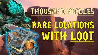 WoW Classic - Rare Mob Locations + UNIQUE LOOT - Thousand Needles