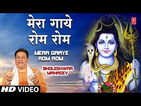 Mera Gaaye Rom Rom Tum Shiv Bhajan By Anup Jalota Full Song...