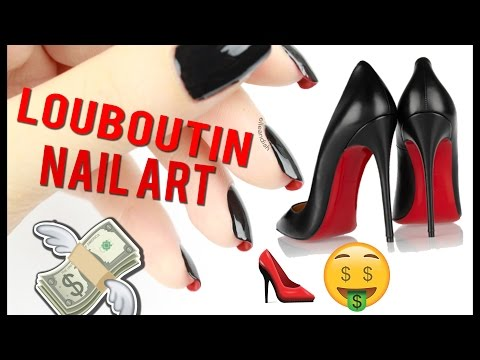 LOUBOUTIN RED BOTTOM NAIL ART