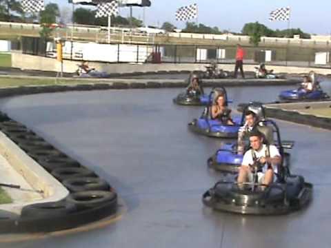 Go Kart Dallas >> slick track in dallas - YouTube