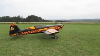Modelářské letiště Žabárna (Fryšták) - RC modely letadel 3.9.2016