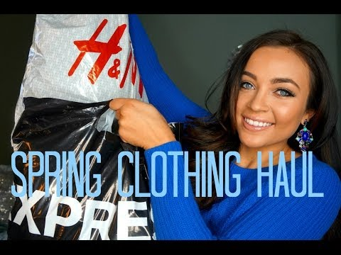 SPRING CLOTHING HAUL! ♡