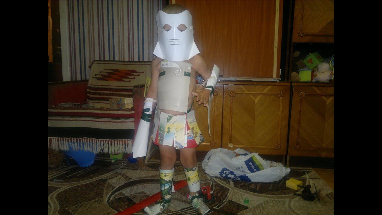 Новогодний костюм робота своими руками. « Мамин 4