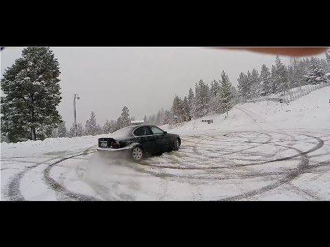 FIRST SNOW BMW DRIFT #FAIL