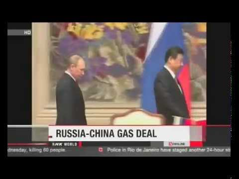 China and Russia sign multi-billion dollar gas deal