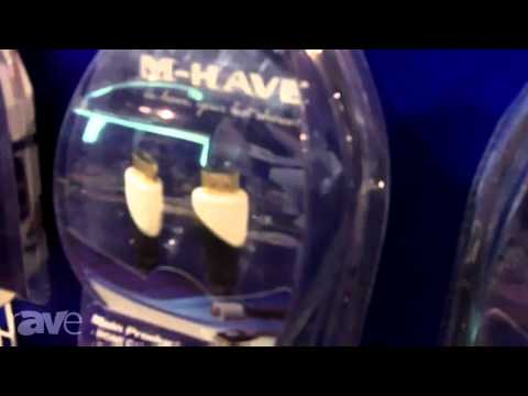 CEDIA 2013: M-have Shows its HDMI Cables