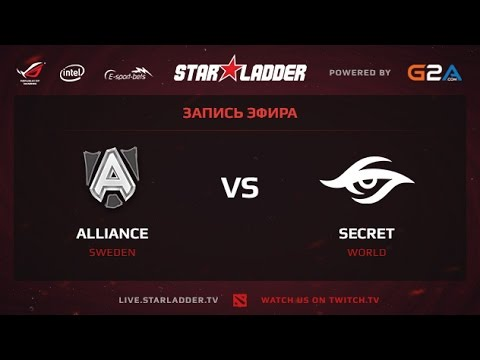 Alliance vs Team Secret game 2 StarSeries XII Finals