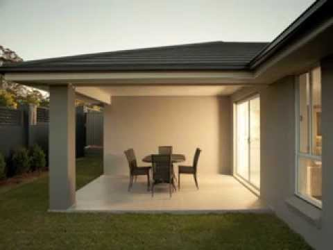 Single storey design zac homes house land packages for One story house plans with interior photos