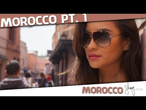 Marrakech + Hot Air Balloon Ride | Morocco Shaycation Part 1