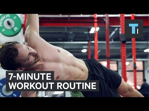 7minute workout routine