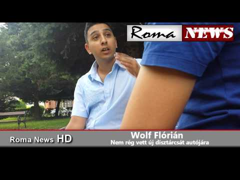 Roma News - Díszcigány (Wolf Flóri)