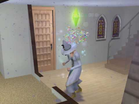 Sims 2-Young Adult Aging. When a young adult graduates university, ...