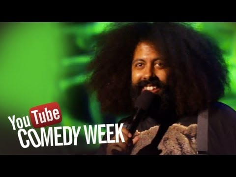 Beardyman and Reggie Watts - The Big Live Comedy Show Highlights - YouTube Comedy Week