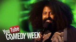 Beardyman and Reggie Watts - The Big Live Comedy Show Highlights - YouTube Comedy Week