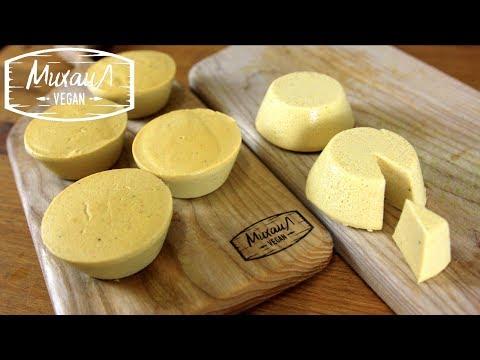 КАК ПРИГОТОВИТЬ ВЕГАНСКИЙ СЫР В ДОМАШНИХ УСЛОВИЯХ   попытка №1   homemade vegan cheese
