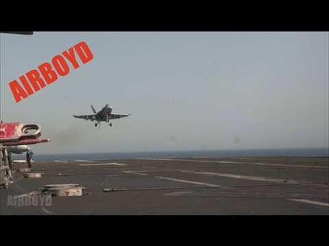 Super Hornets USS George H.W. Bush (CVN 77)