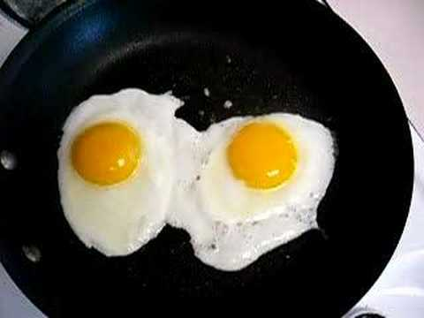 fried eggs Video