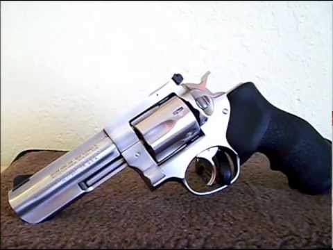 HAND CANNON! RUGER GP100 STAINLESS .357 MAGNUM