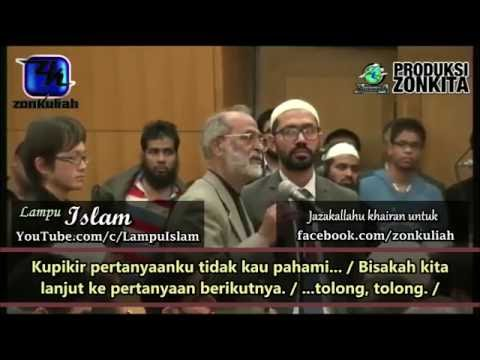 Anggota Kongres Kecewa Dengan Jawaban Dr. Zakir Naik