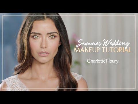 Summer Wedding Makeup Tutorial | Charlotte Tilbury - YouTube