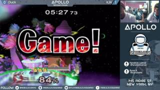 Apollo #1:  - Winner's Finals: Duck vs. KJH