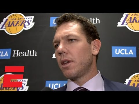 Luke Walton 'happy and proud' to get win in LeBron's return to Cleveland | NBA Sound