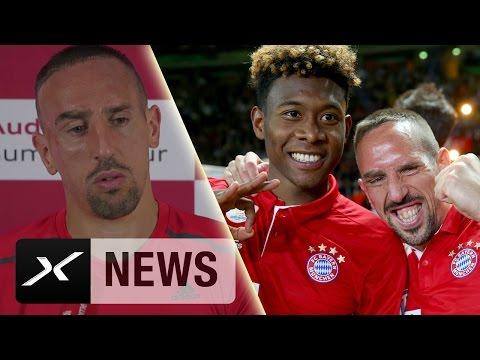 Franck Ribery: Meine Beziehung zu David Alaba ist speziell | FC Bayern München