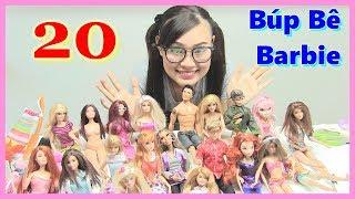 Xem Bộ Sưu Tập Búp Bê Barbie Có Khớp Cực Dễ Thương-  ĐỒ CHƠI TRẺ EM - ĐỒ CHƠI MỸ