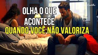 VALORIZE  SUA ESPOSA ANTES QUE SEJA TARDE DEMAIS - REFLEXÃO DE VIDA