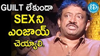 Director Ram Gopal Varma About Prostitution | Ramuism 2nd Dose