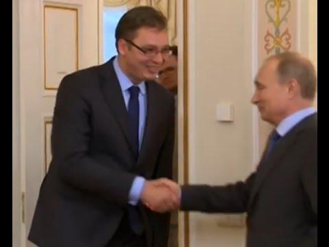 Vučić i Putin: Nameravamo da ojačamo odnose