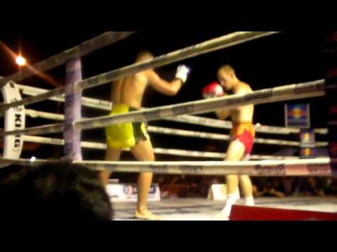 STEPHEN HODGERS vs  BRAIN ROBERTSON WPMF QUEENS BIRTHDAY FIGHT SANAM LUANG BANGKOK rd2
