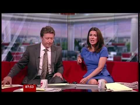 Susanna Reid - Stunning In Frilly Blue Dress 29-Oct-11