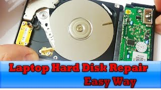 Laptop Hard Disk Repair - What inside the hard disk