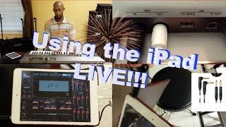 📱🎹 How to: Connecting Your iPad To Your Keyboard and Amp!! by Marcellus Elder