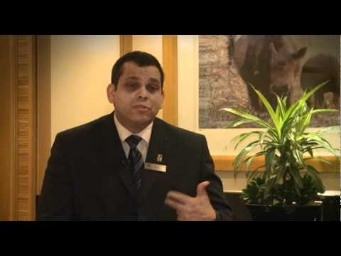 A day in the life of... reception and front desk staff