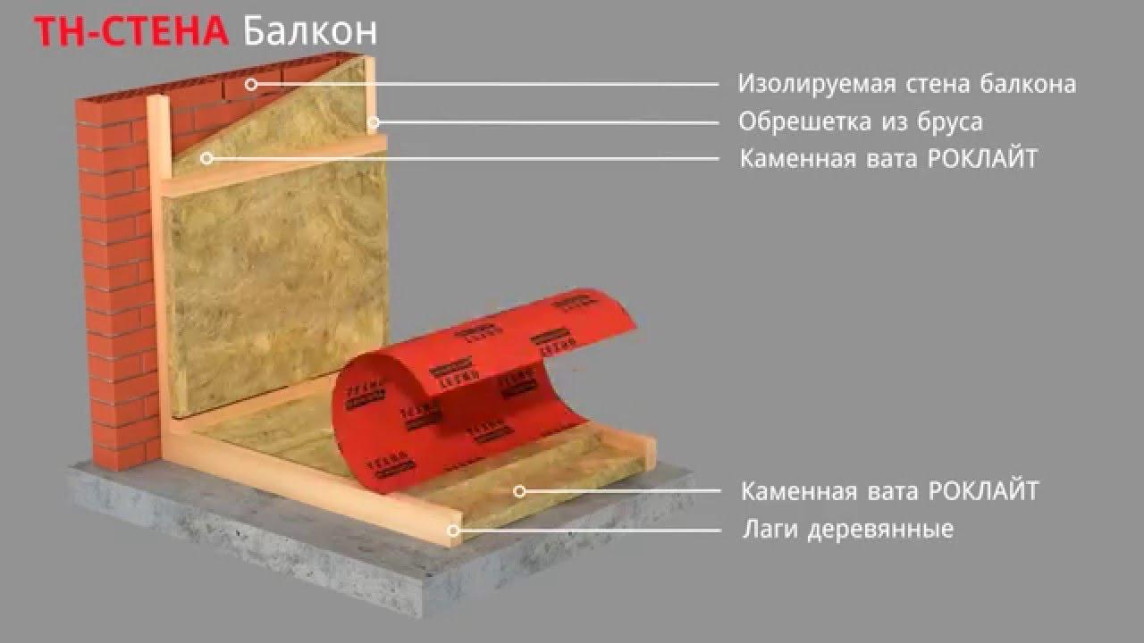 Утепление балкона (видеоинструкция) - playithq.com-youtube v.