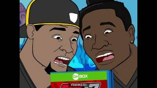 Gridiron Heights, Ep. 16: Le'Veon Bell, Antonio Brown Play Video Games on GHBox
