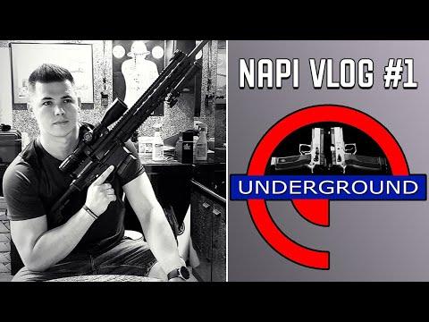 Napi VLOG #1 - Underground Lövész Klub I Szombathely
