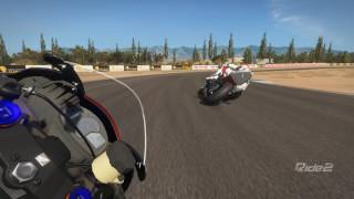 Ride2 Honda - CBR 600RR - Almeria - Grand Prix Circuit [Chin view]
