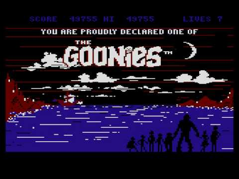 Atari XL/XE - The Goonies [Datasoft] 1985....  (longplay)